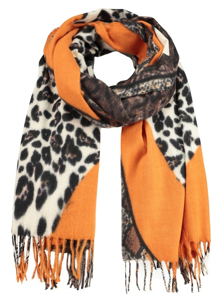 WA SAVAGE scarf / 5 orange