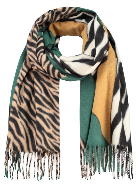 WA KALAHARI scarf / 5 green