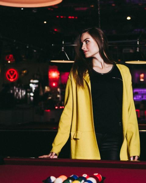 WKN JANE jacket yellow
