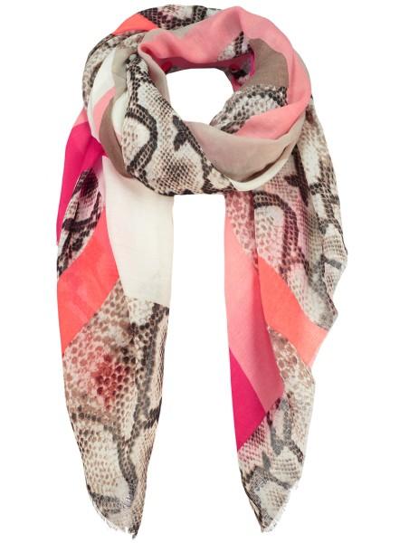 WA POISON scarf / 4 pink