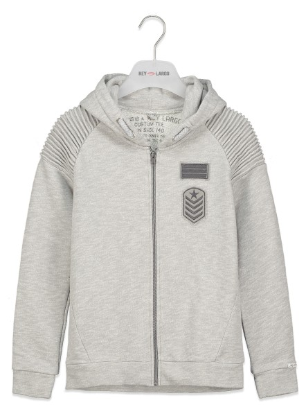 BSW CAMP jacket silver mel.