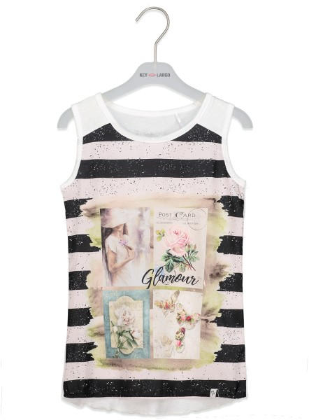 GT TOP ROMY round offwhite