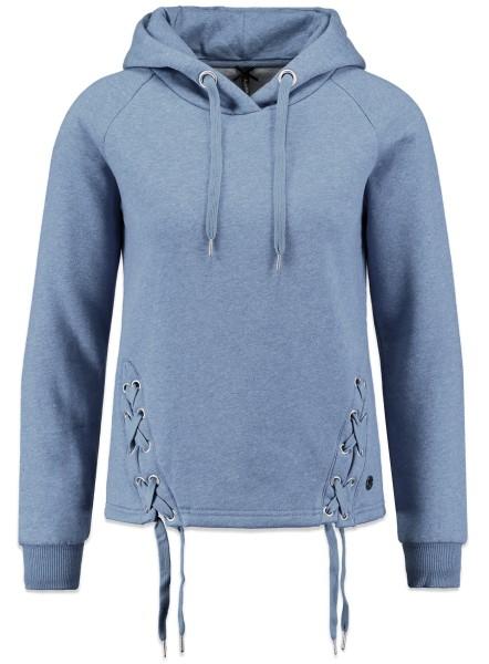 WSW MILA hood jeansblue mel.