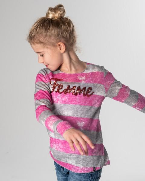 GLS FEMME round silver-pink