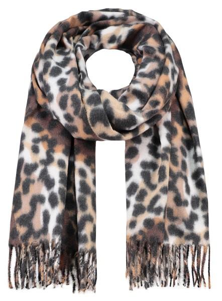 WA ANIMAL scarf / 4 schlamm