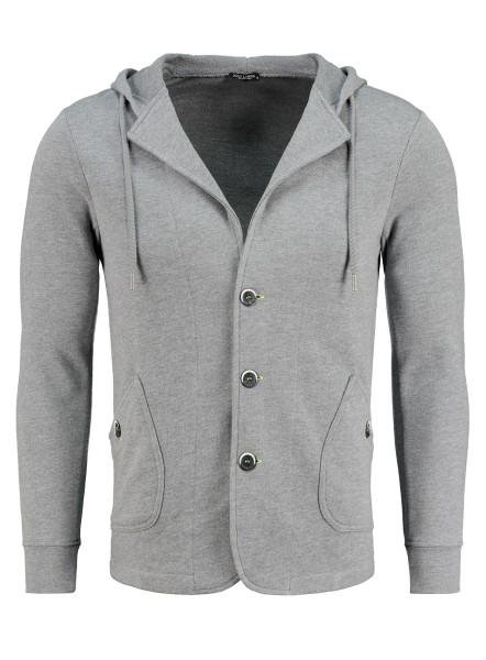 MSW FINSBURY jacket-hoody grey