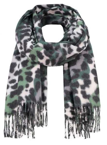 WA ANIMAL scarf / 4 green