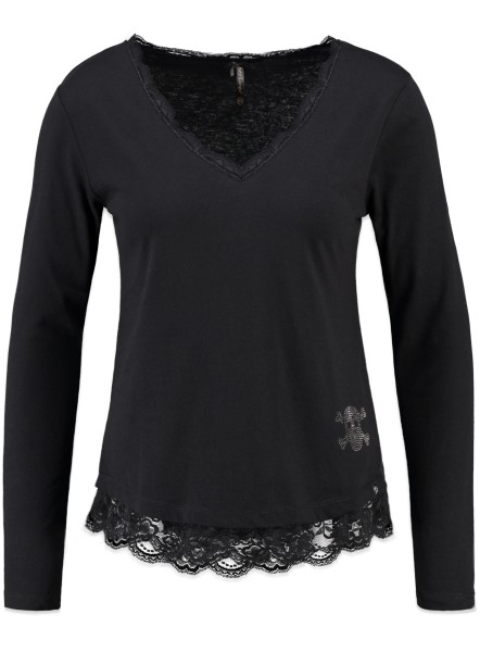 WLS LACE v-neck