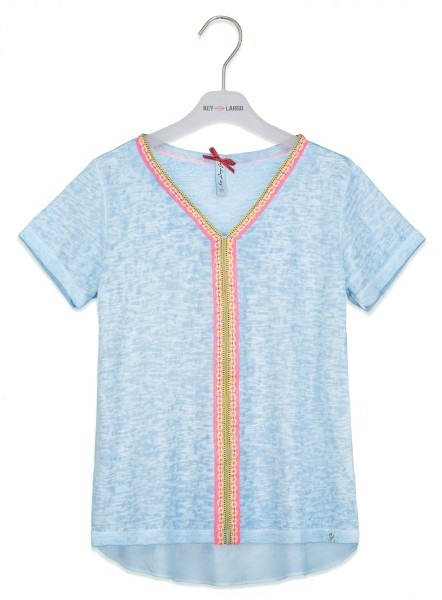 GT LAGOONA v-neck light blue