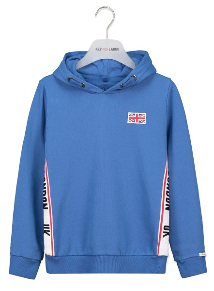 BSW LONDON hoody gitane blue