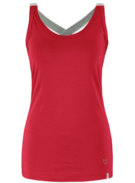 WT TOP LUCY NEW round red