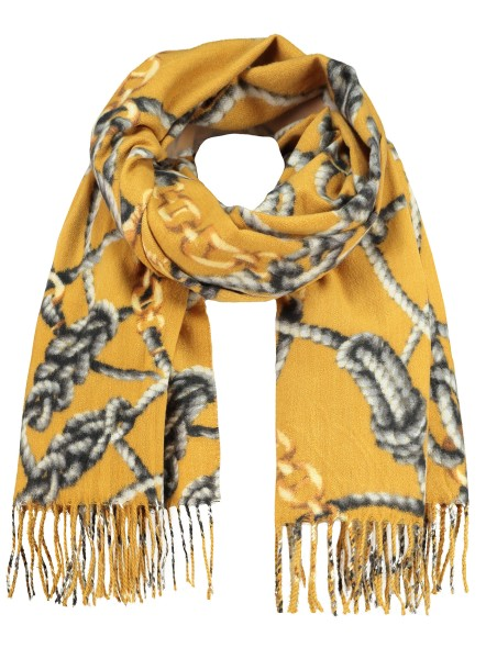 WA CORD scarf / 5 yellow