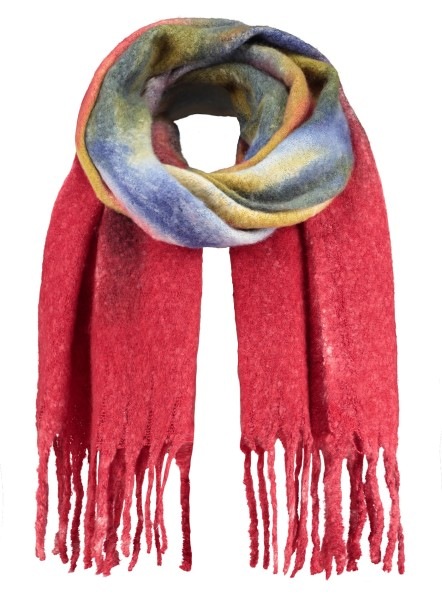 WA BATIK scarf / 4 red