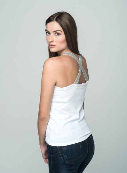 WT TOP LUCY NEW round white