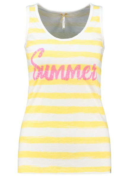 WT TOP SUMMER round yellow