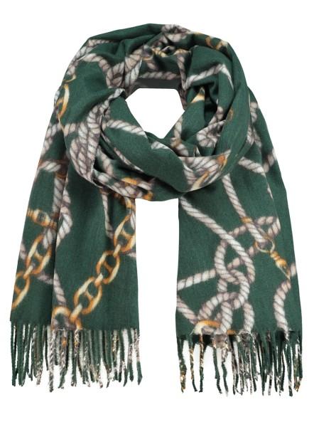 WA CORD scarf / 5 green