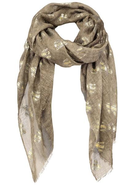 WA HEARTS scarf / 4