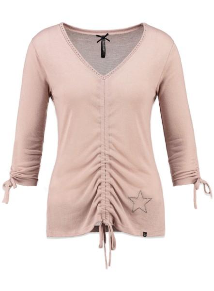 WLS GLAM v-neck rosa