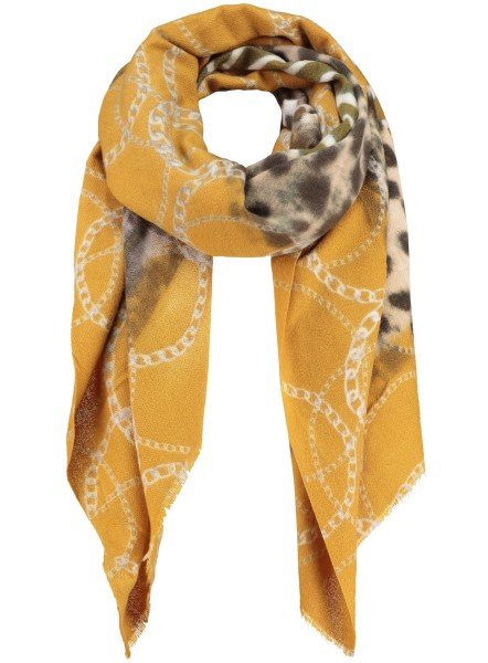 WA CHAOS scarf / 3 yellow