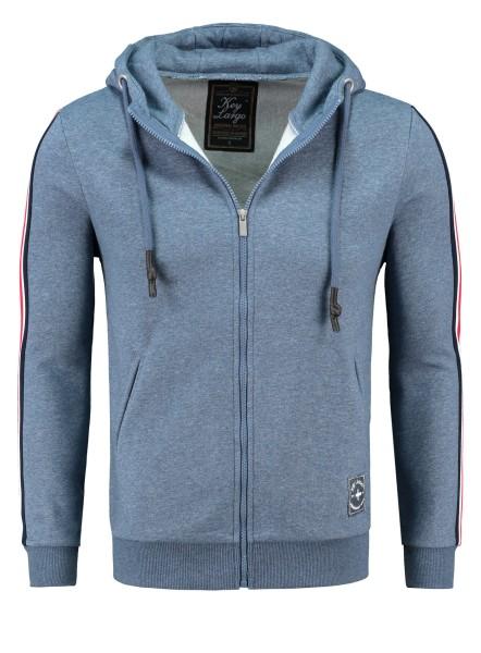 MSW JUVE hoody-jacket dark blue mel.