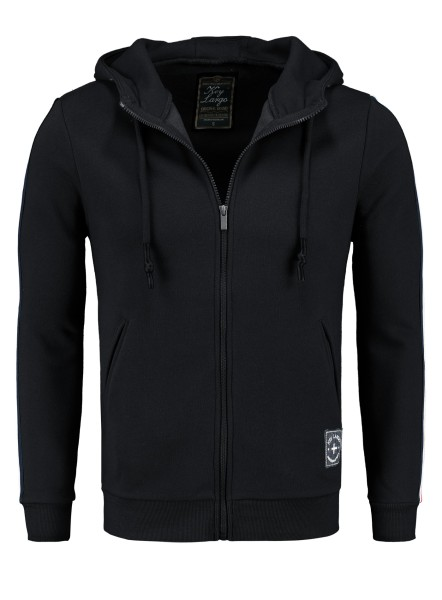 MSW JUVE hoody-jacket black