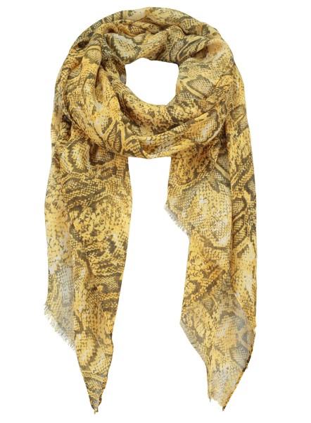 WA PYTHON scarf / 4 yellow