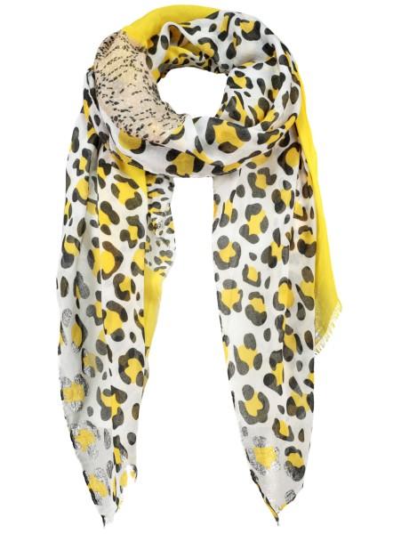 WA TOXIC scarf / 3 yellow