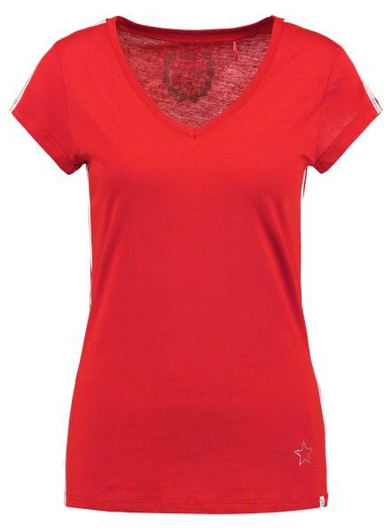 WT FRESH v-neck red