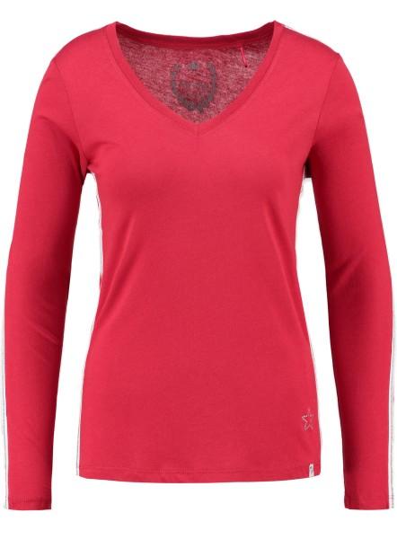 WLS CLEAN v-neck red