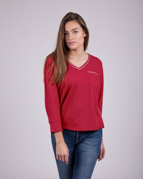 WLS HOLIDAY v-neck 3/4