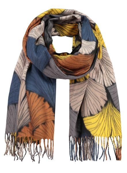 WA GINKGO scarf / 4 yellow