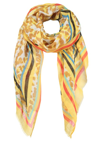 WA KAIRO scarf / 4 yellow