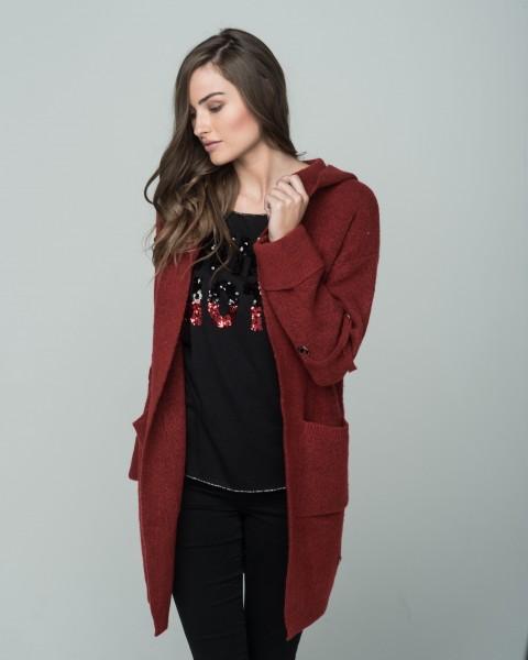 WKN BUNNY jacket red mel.