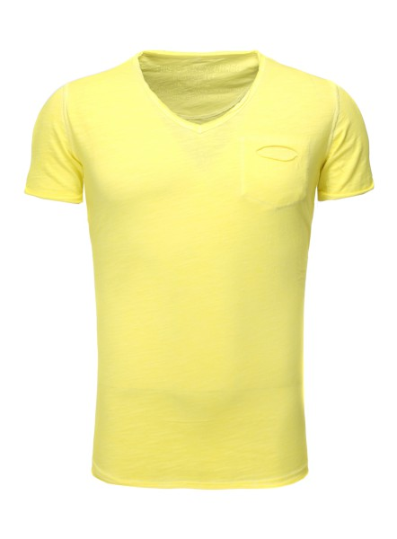 MT SODA NEW v-neck yellow