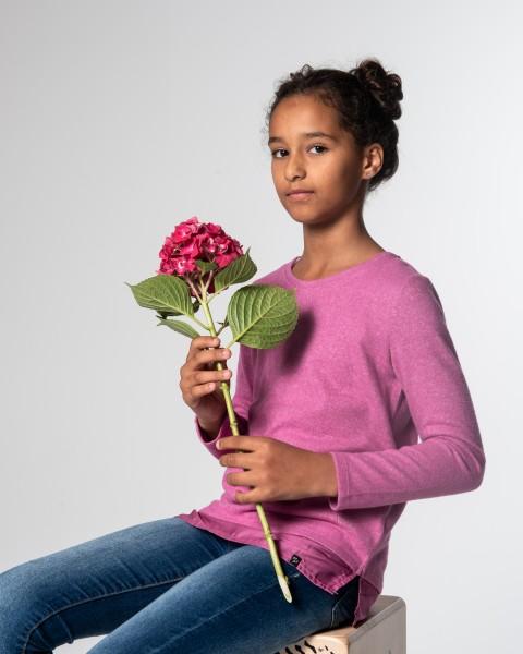 GLS LINDA round fuchsia pink