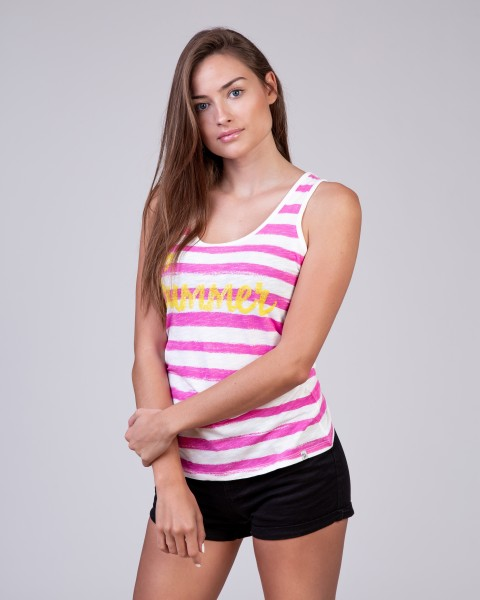 WT TOP SUMMER round pink