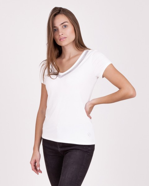 WT MILLY v-neck