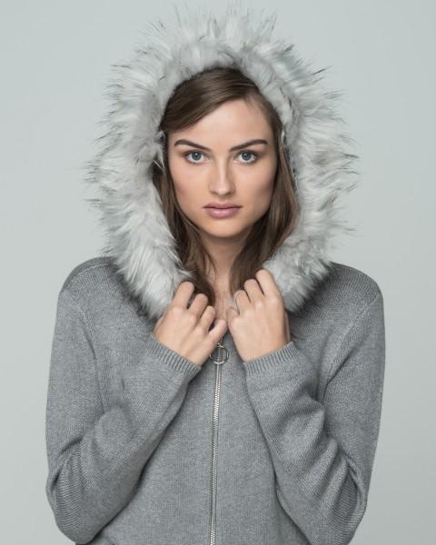 WKN VANESSA jacket grey mel.