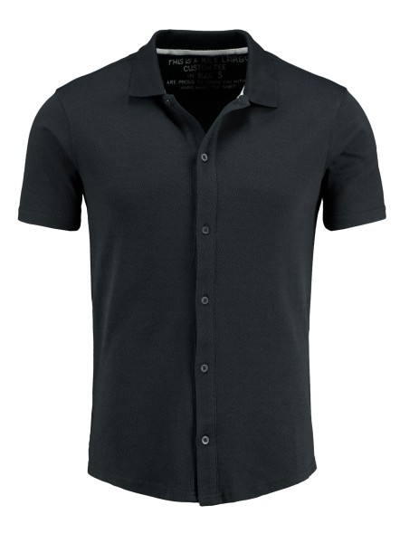 MSH ALLEN shirt shortsleeve black