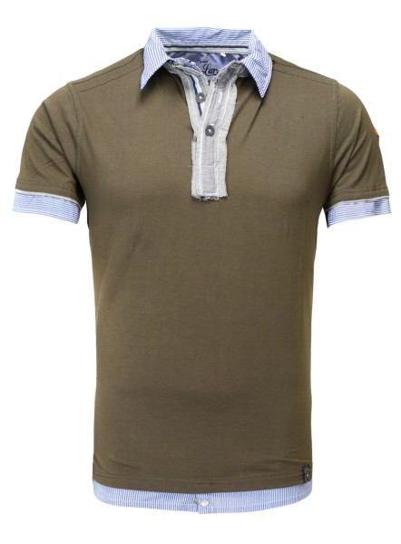 MP NATION polo olive