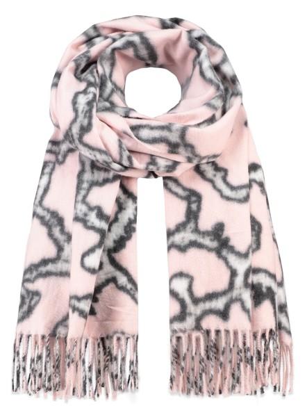 WA GIRAFFE scarf / 3 rosa