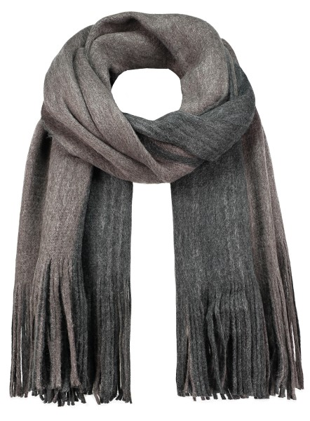 MA DENMARK scarf /4 anthra-mocca brown