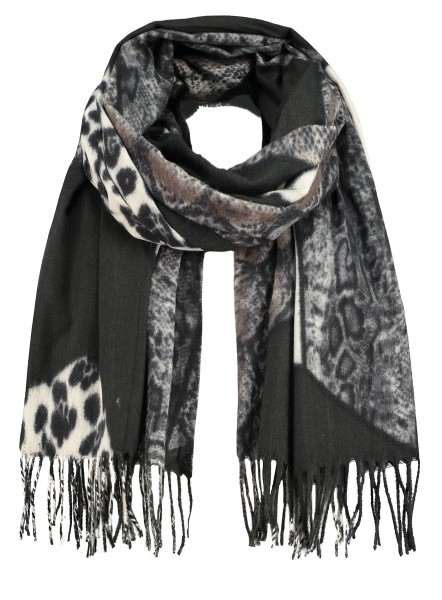WA SAVAGE scarf / 5 black