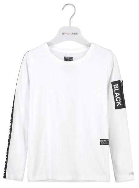 BLS BLACK round white