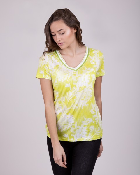 WT HOME v-neck kiwi