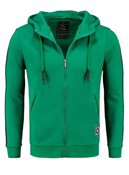 MSW JUVE hoody-jacket leaf green