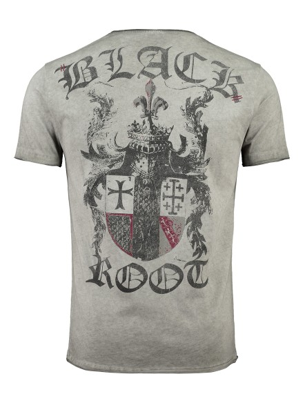 MT ROOTS v-neck silver