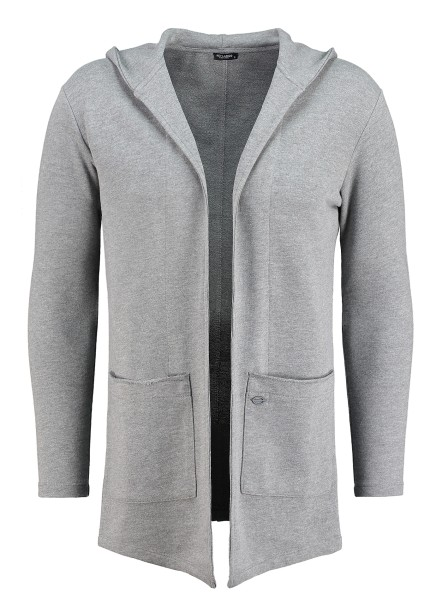 MSW GORDON jacket long silver mel.