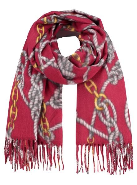 WA CORD scarf / 5 red
