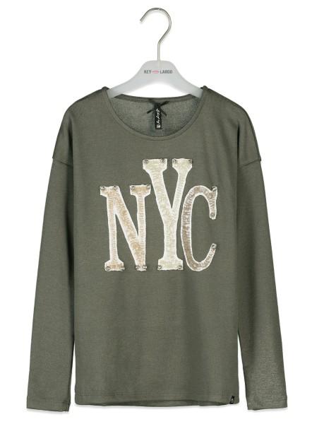 GLS NYC round olive